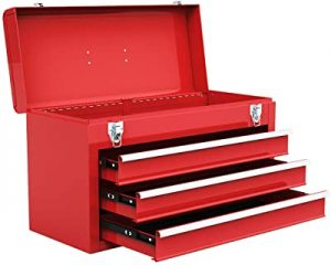 Goplus portable tool chest