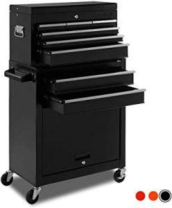 On shine high capacity tool chest