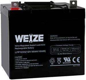 Weize 12V trolling motor battery