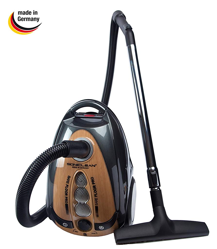 Soniclean Bare Floor Pro Canister Vacuum Cleaner