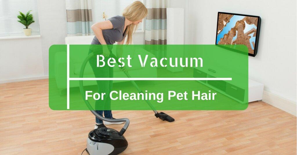 Cleaning Pet Hair On Hardwood Floors
