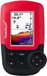 HawkEye fish finder