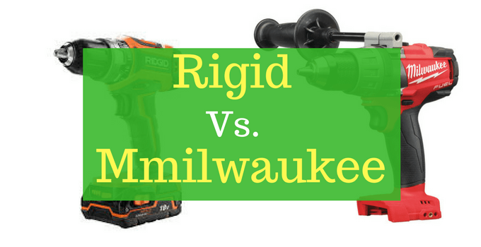 A comparison of Ridgid and Milwaukee