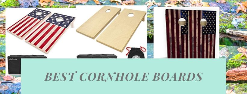 High-quality wooden boards for cornhole