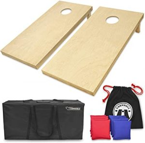 GoSports set of 8 cornhole boards