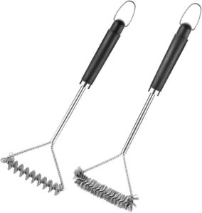 GrillJoy 3-Sided Grill Brush